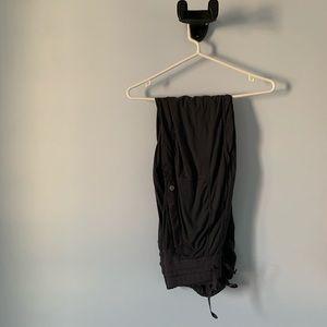 Dark grey Lululemon studio pants size 4